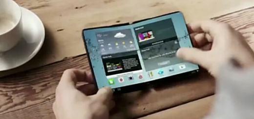 Samsung vouwbaar scherm
