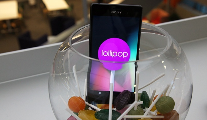 Sony Xperia Z3 Android Lollipop