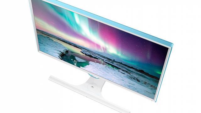 Samsung monitor+smartphone draadloos opladen