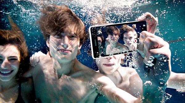 Sony Xperia waterdicht onder water