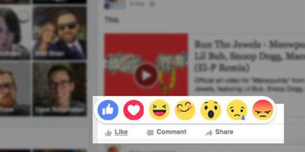 facebook_emoji Rections