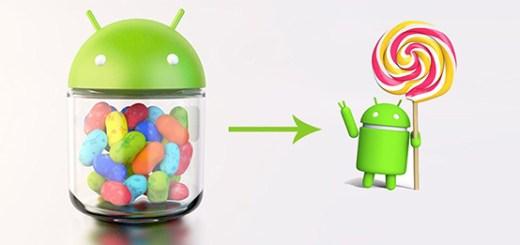 Lollipop vs Jelly Bean