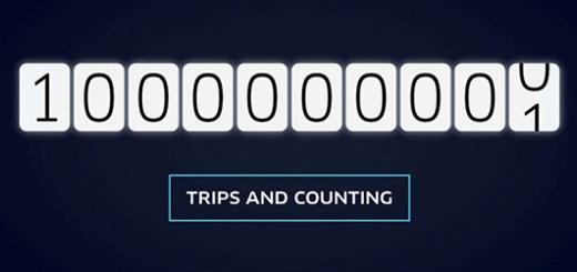 Miljard Uber trips