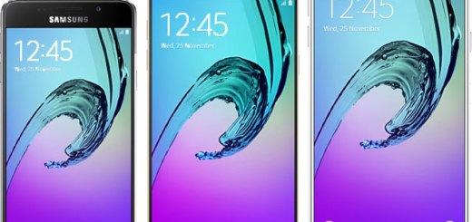 Samsung Galaxy A-serie 2016