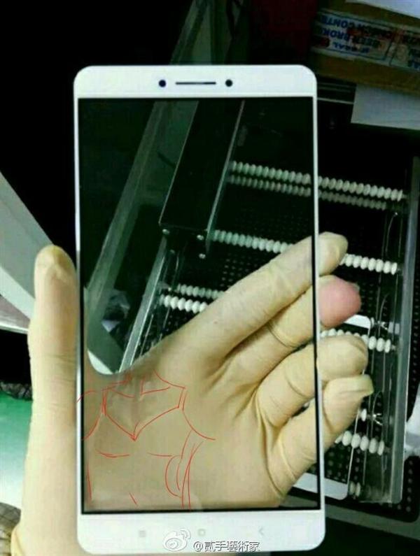 Xiaomi Max scherm foto