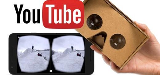 YouTube VR 360 graden