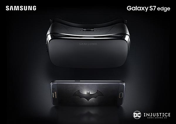 Samsung Galaxy S7 Edge Batman Injustice Gear VR