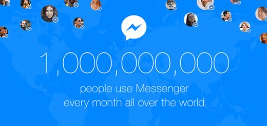 Facebook Messenger 1 miljard