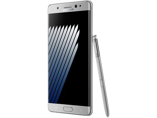 Samsung Galaxy Note 7 zilver