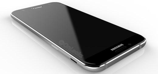 Samsung Galaxy A8 (2016) render