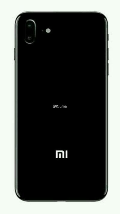 Xiaomi Mi 5s achterkant