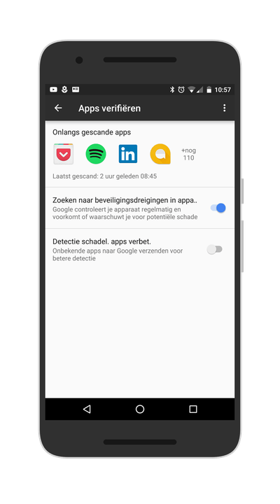 Apps verifieren Google Play Services