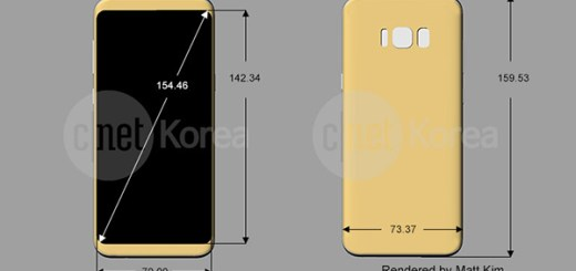 Galaxy-S8-Plus render afmetingen
