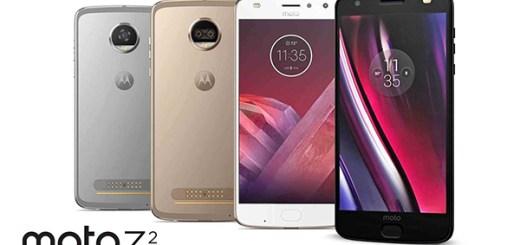 Motorola Moto Z2-serie render
