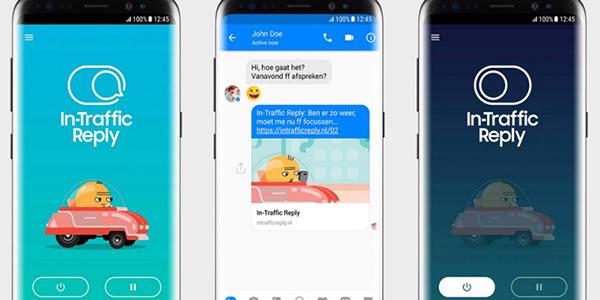 Samsung-In-Traffic-Reply-app