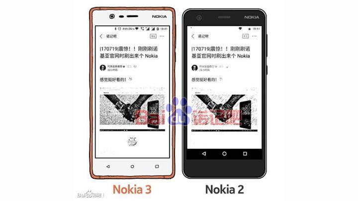 Nokia 2 schets