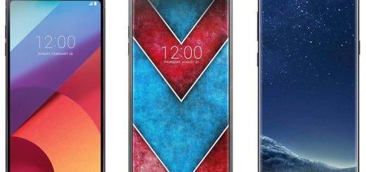 LG-V30 vs LG G6 vs Galaxy S8