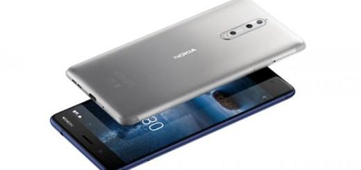 Nokia 8 blauw grijs