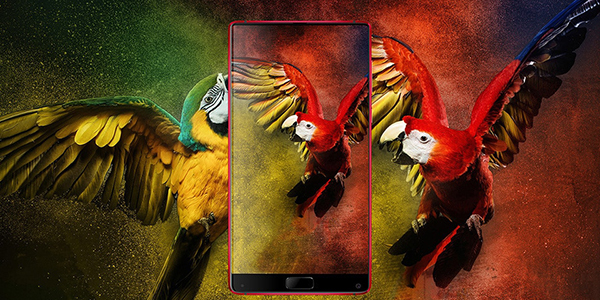 Elephone S8 rood limited edition