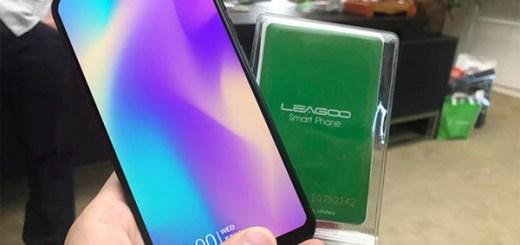 Leagoo S9 iPhone X Clone