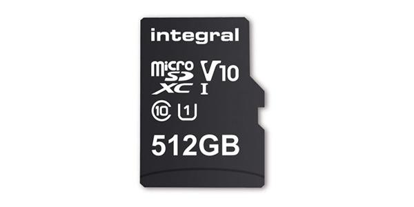 Integral Memory 512GB microSD