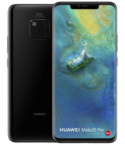 Huawei-Mate-20-Pro-zwart