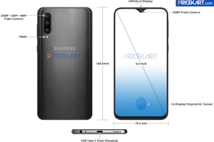 Samsung-Galaxy-A50-render-specificaties