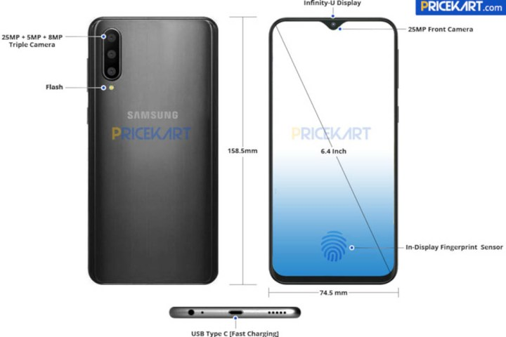 Samsung-Galaxy-A50-render-specificaties
