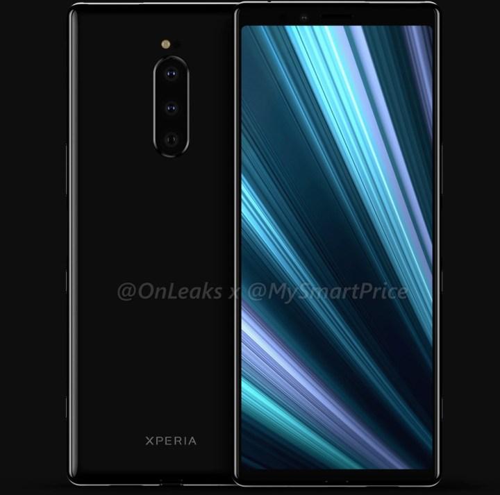 Sony-Xperia-XZ4-render