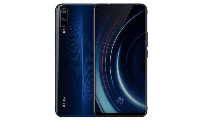 Vivo-iQOO-smartphone-blauw