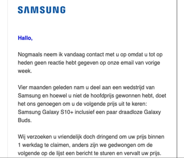 Samsung-Galaxy-s10-winactie-nep-opgelicht