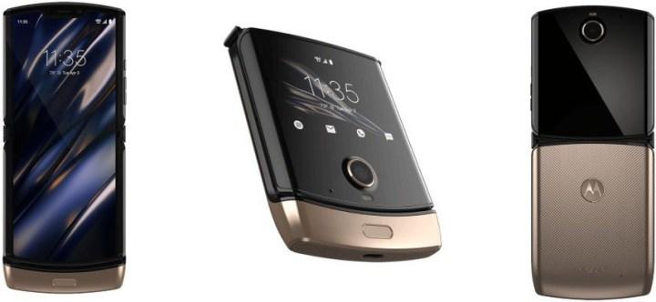 Motorola-Razr-goud