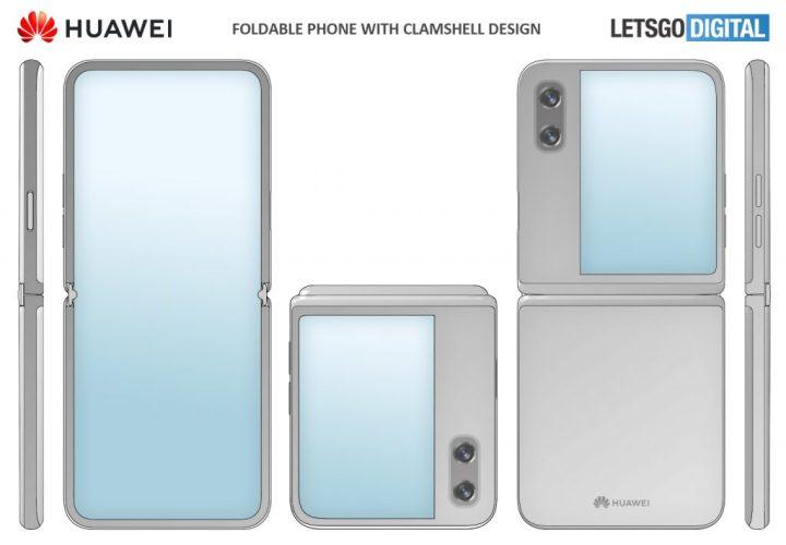 Huawei_Opvouwbare_Smartphone_Clamshell