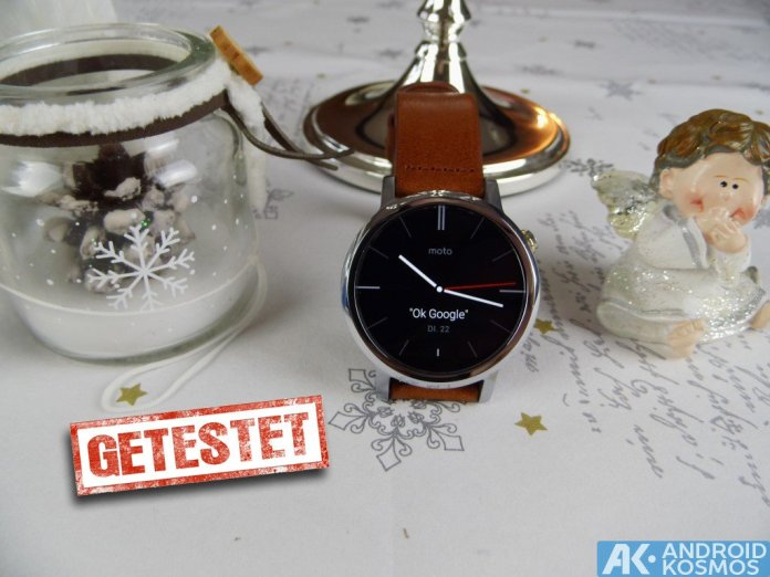 Test / Review: Moto 360 2nd Generation Smartwatch mit unboxing & Hands-On Video 1
