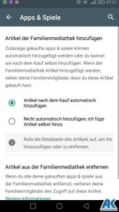 Play Store: Family Library und neue Kategorien 8