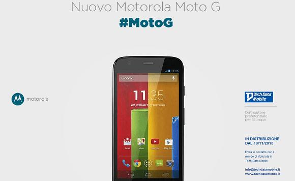 Moto G Italia