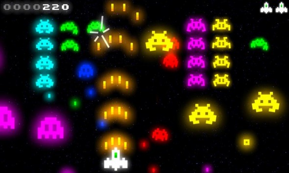 Space Invaders lässt grüßen: Retro-Invasion im Neo-Design
