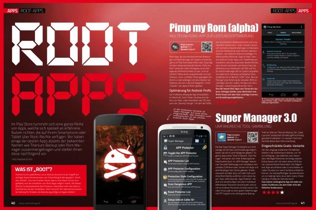 Root-Apps (2 von 6 Seiten)