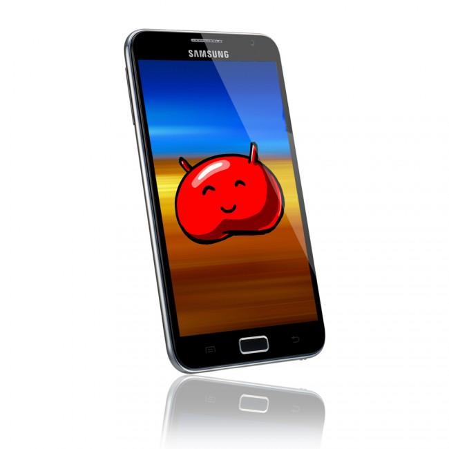 Das Note 2 wird jetzt auch mit Android 4.1.2 ausgestattet.