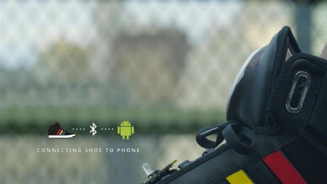 Der Smart Shoe ist mit unterschiedlichen Sensoren ausgestattet und redet sogar mit dem Besitzer.