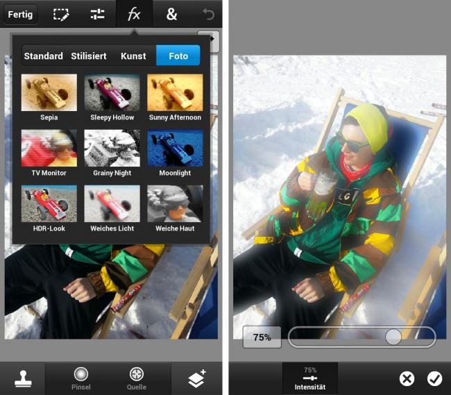 Instagram und Co. haben es bereits vorgemacht und Bildbearbeitungen auf dem Smartphone schon vor einiger Zeit auf die Smartphones gebracht.
