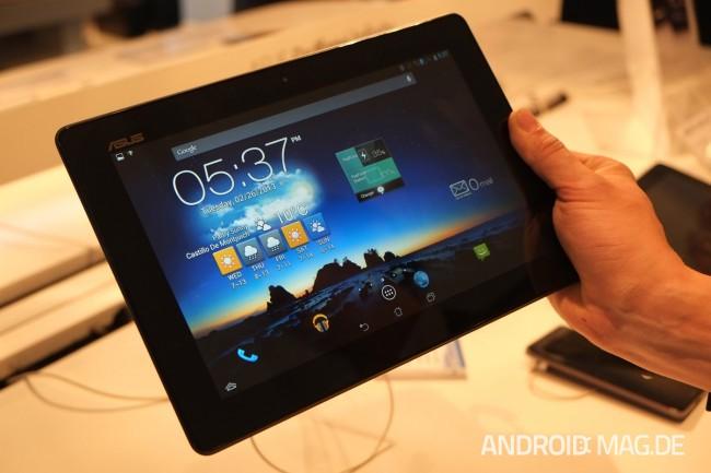 Das Padfone Infinity kann als Tablet...