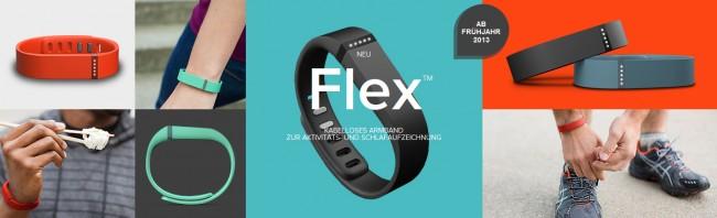 Das FitBit Flex Fitness-Armband zeichnet Daten wie Kalorienverbrauch oder zurückgelegte Kilometer auf.