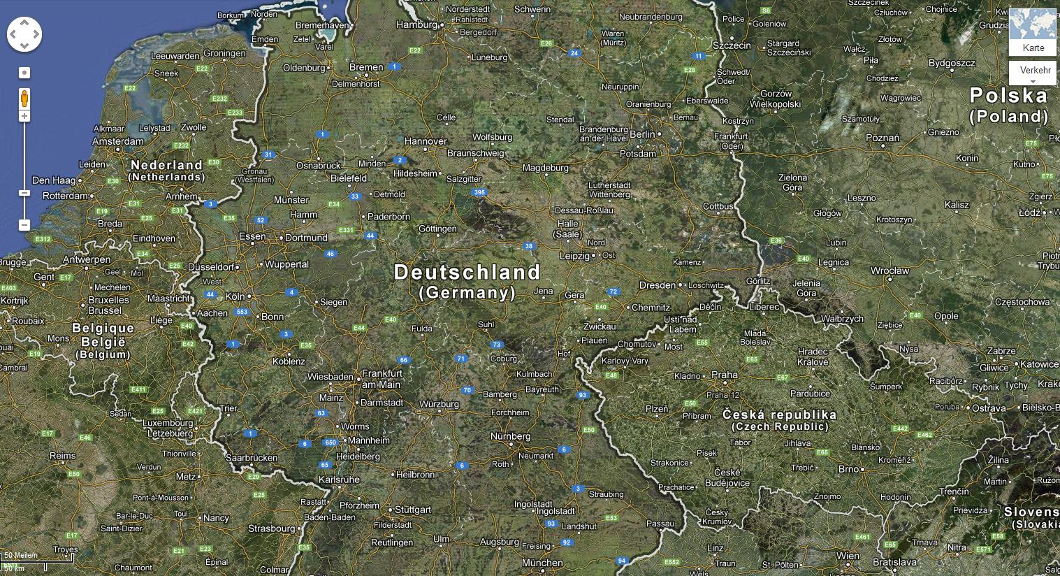 Patentklage könnte Google Maps in Deutschland verschwinden ...