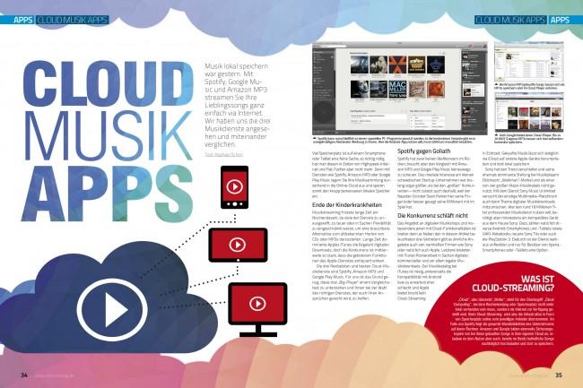 Cloud Musik-Apps (2 von 6 Seiten)