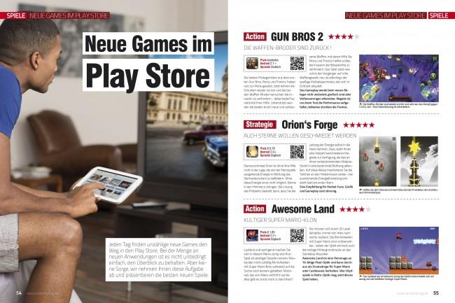 Neue Games im Play Store (2 von 6 Seiten)