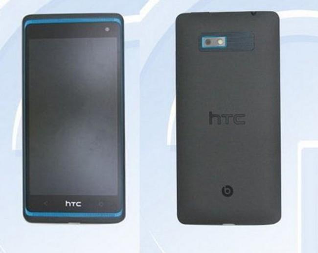 Auch beim HTC M4 setzt HTC wieder auf Frontlautsprecher. Foto: tenaa.com.cn.