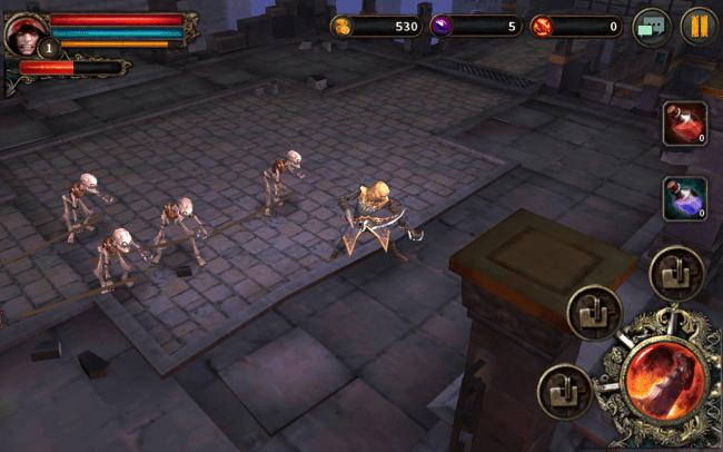 Im Infinity Tower trittst du gegen Gegnerscharen an. Das Erledigen der Horden bringt Goldprämien und Punkte, die deinen Charakter auf der Rangliste nach oben befördern.