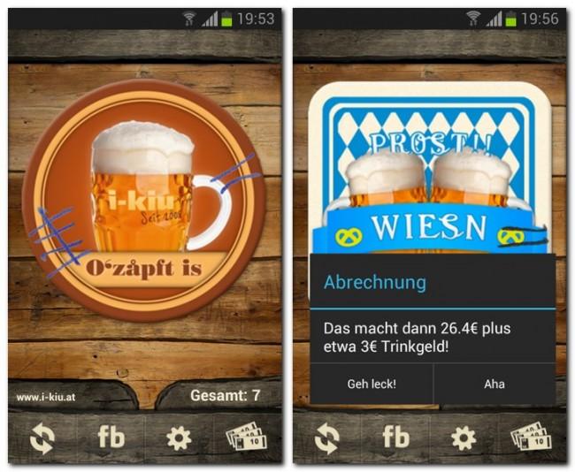 Die Deckl-App dient als virtueller Bierdeckel und verschafft dir einen Überblick über die Anzahl und den Preis der getrunkenen Biere.