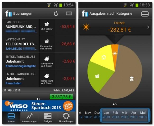 Die App finanzblick ermöglicht es dir, schnell und bequem deine Kontoumsätze abzufragen und Überweisungen zu tätigen.